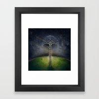 Treelogy 2 Framed Art Print