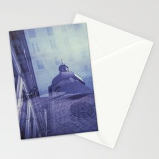 Holga Double Exposure: Eglise Saint-Paul-Saint-Louis, Paris  Stationery Cards