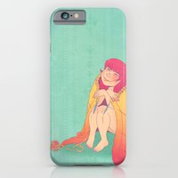 iPhone & iPod Case featuring The Joy of Knitting by Cola82