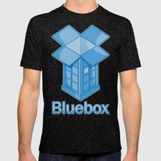 Bluebox Mens Fitted Tee Tri-Black SMALL