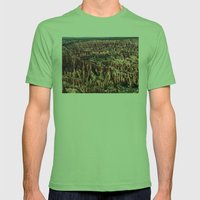 Bryce Canyon National Park Mens Fitted Tee Grass SMALL