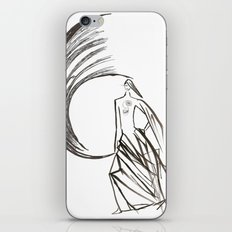 Angel under cover (home photo) iPhone & iPod Skin