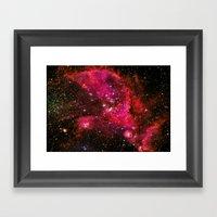 The Universe Framed Art Print