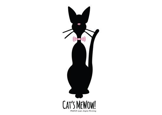 Cat's MeWow! Art Print