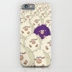 Sheep Pattern | Purple Slim Case iPhone 6s