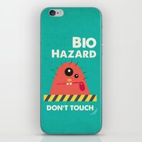 Germusu Biohazard Sign iPhone & iPod Skin