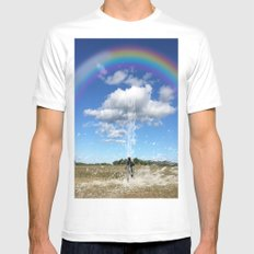 One Of Those days Mens Fitted Tee SMALL White
