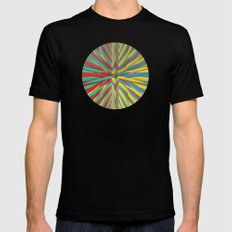 Spiked Perspective Mens Fitted Tee Black SMALL