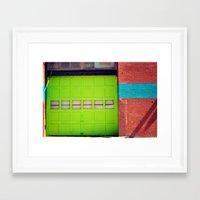 Loading Bay Framed Art Print