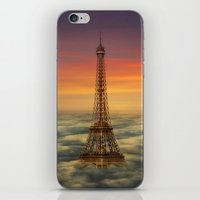 Sous Le Ciel De Paris iPhone & iPod Skin