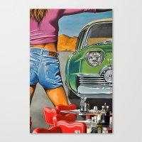 Rock N Roll 2 Canvas Print