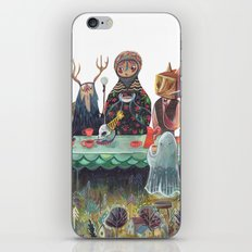 The Art of ruining conversation at dinner parties iPhone & iPod Skin