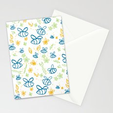 Busy Bees Stationery Cards
