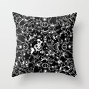 For Good For Evil Throw Pillow