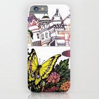 iPhone & iPod Case featuring Summer Cycling by Natsuki Otani