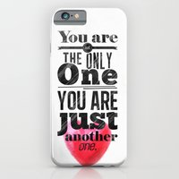 iPhone & iPod Case featuring You are not the only One. by Naniii