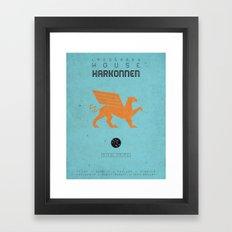 HOUSE HARKONNEN Framed Art Print