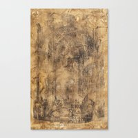 Ironworks Of Old Canvas Print