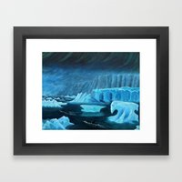 Visions Of Antarctica Framed Art Print