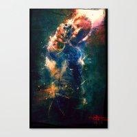 TwD Rick Grimes. Canvas Print