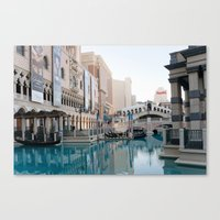 Venetian, Early Morning Canvas Print