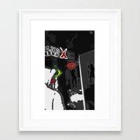For Shame V3: Prōclīvitās Framed Art Print