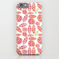 iPhone & iPod Case featuring minimalist autumn by serenita