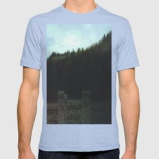 Fractions A14 Mens Fitted Tee Tri-Blue SMALL
