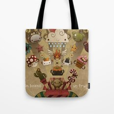In boxes we trust Tote Bag