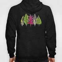 leaves and feathers Hoody