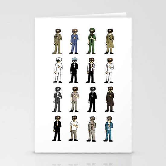 Woody Allen's Stationery Card