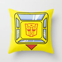 Transformers - Bumblebee Throw Pillow