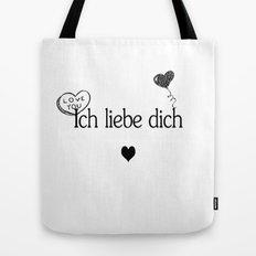 Ich Liebe Dich Tote Bag