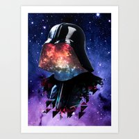 THE DARTH FATHER Art Print