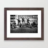 Skaterboy Framed Art Print