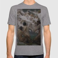 Antiquity Mens Fitted Tee Athletic Grey SMALL