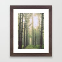 Obscurity Framed Art Print