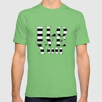 I love you Mens Fitted Tee Grass SMALL