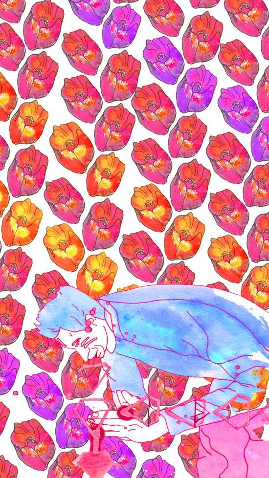 Diamond Pollen Art Print