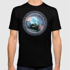 The Unknown Journey Mens Fitted Tee Black SMALL