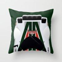 Stratos Throw Pillow