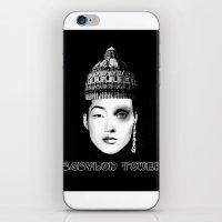 Babylon Tower iPhone & iPod Skin