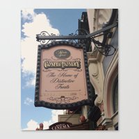Confectionery Canvas Print