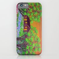 Meadow in the Sunrise iPhone 6 Slim Case