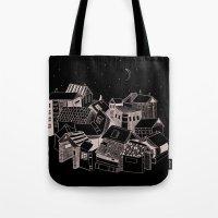 Book Town Tote Bag