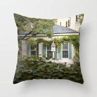 glimpse::charleston Throw Pillow
