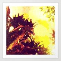 Tropical Plants Art Print