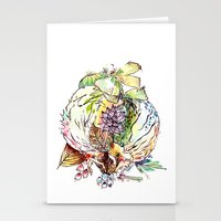 Hedgehog Effect Stationery Cards
