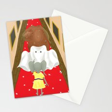 Boo! But Tiny Mouse I Think You Should Look Behind You! Stationery Cards