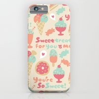 iPhone & iPod Case featuring Sweet Treats by Leanne Oughton